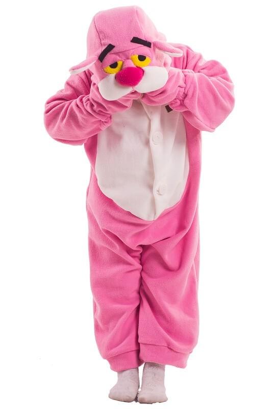Детская пижама-кигуруми Розовая Пантеры (26) - Кигуруми, р.26