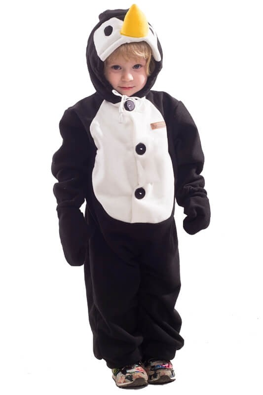 Детская пижама-кигуруми Пингвин (26)