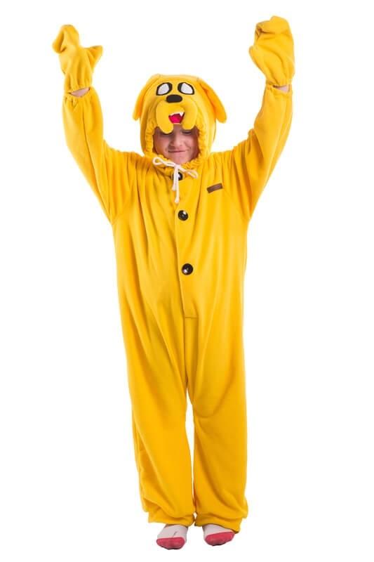 Детская пижама кигуруми Джейк Adventure time (32) - Кигуруми, р.32