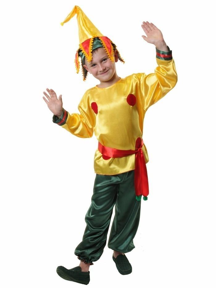 Детский костюм веселого Петрушки (32-34) от Vkostume