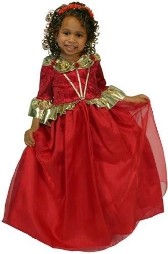 Детский костюм рубиновой королевы (28) детский костюм королевы