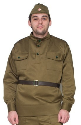 Мужская военная форма (50). Производитель: Фабрика Бока, артикул: 1937900034