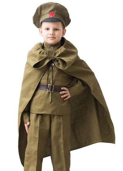 Военный плащ для детей (36)