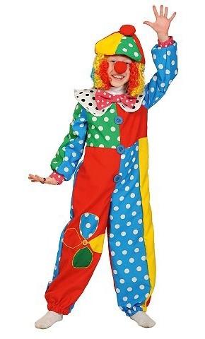 Разноцветный костюм клоуна Фили (38-40) -  Юмор