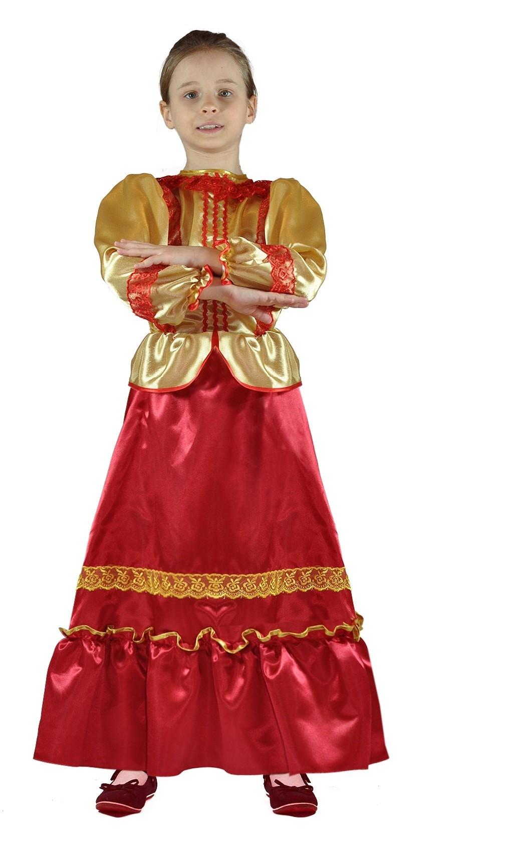 Атласный костюм Казачки (32) fit 19453