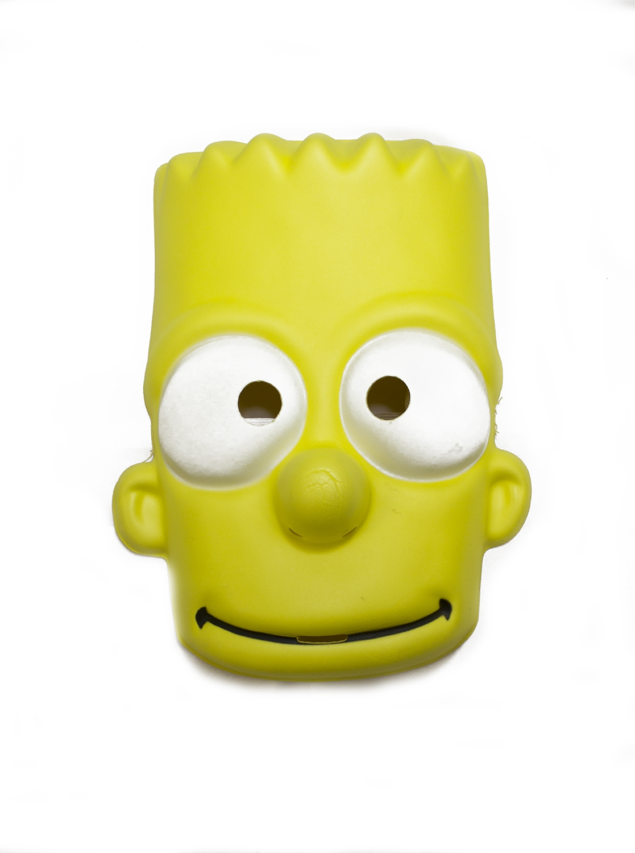Маска Барт Симпсон (UNI) плащ и маска штурмовик uni