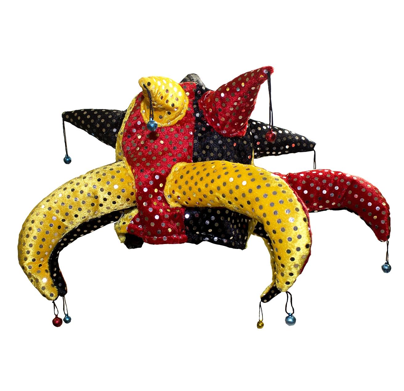 Разноцветная шапка шута (48-52) стюарт э поцелуй шута