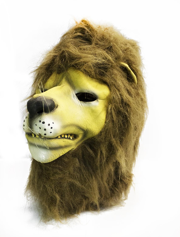 Латексная маска Льва - Карнавальные маски