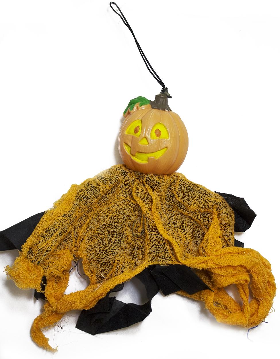 Мини-декорация тыква - Аксессуары на Хэллоуин