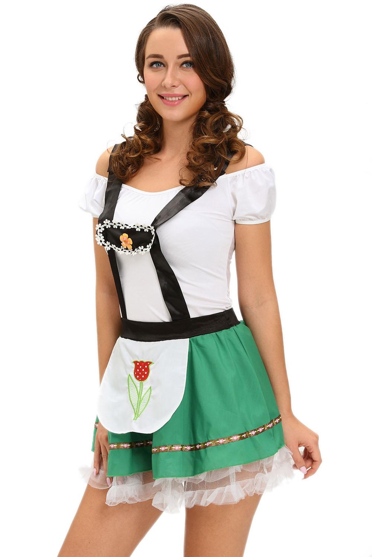 Костюм девушки Октоберфеста (40-44) костюм снегурочки конфетки 40 44