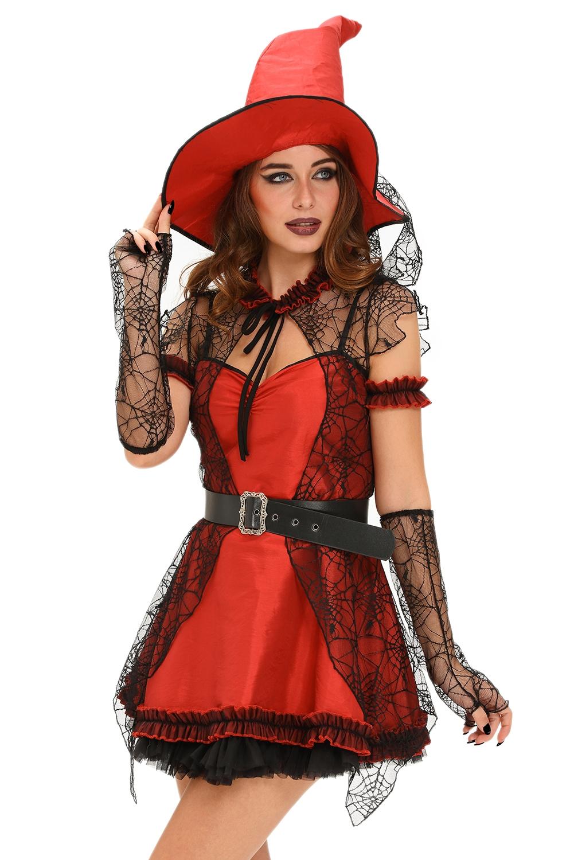 Красный костюм ведьмочки (46)