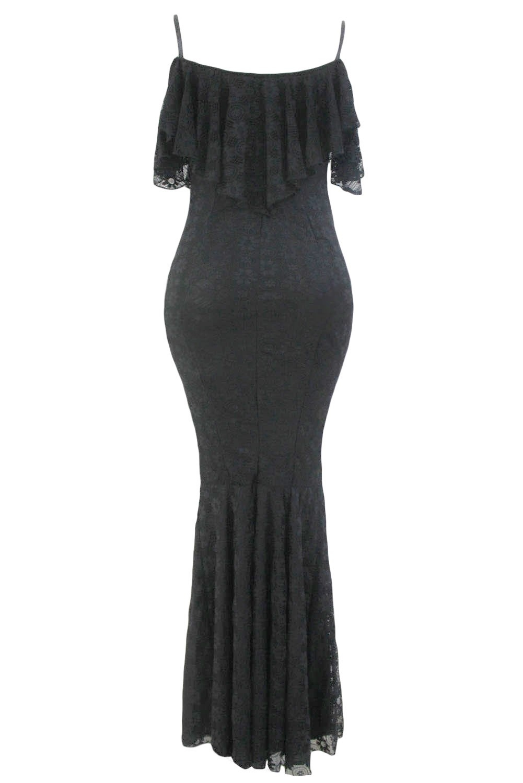 Элегантное кружевное платье (40-42) элегантное черное платье где