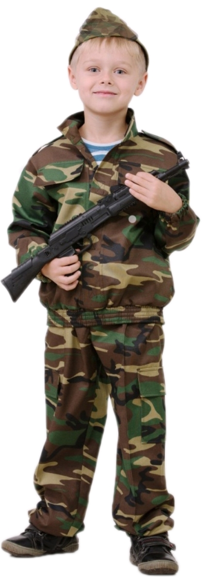 Детский костюм разведчика (36). Производитель: Батик, артикул: 1965000020