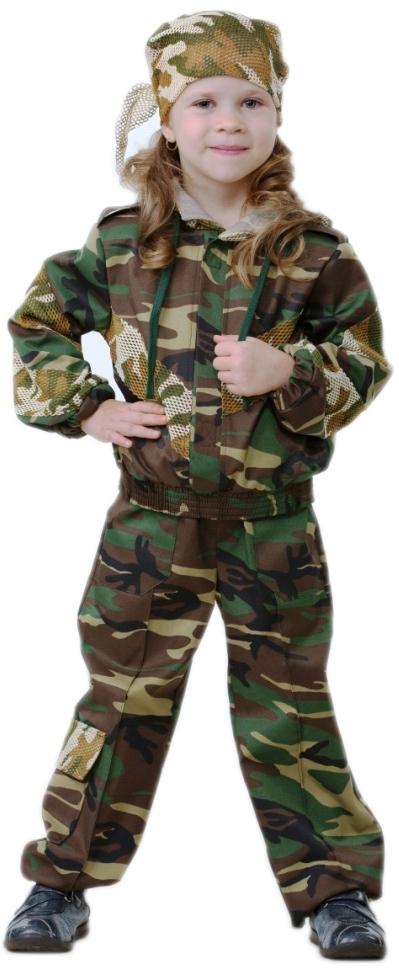 Костюм малышки спецназа (34). Производитель: Батик, артикул: 1965100019