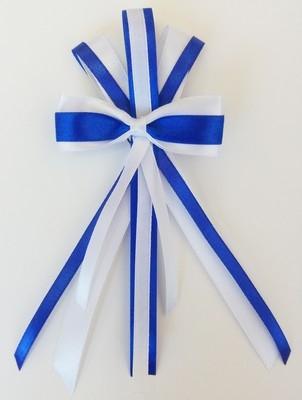 Брошь синий бантик (UNI)