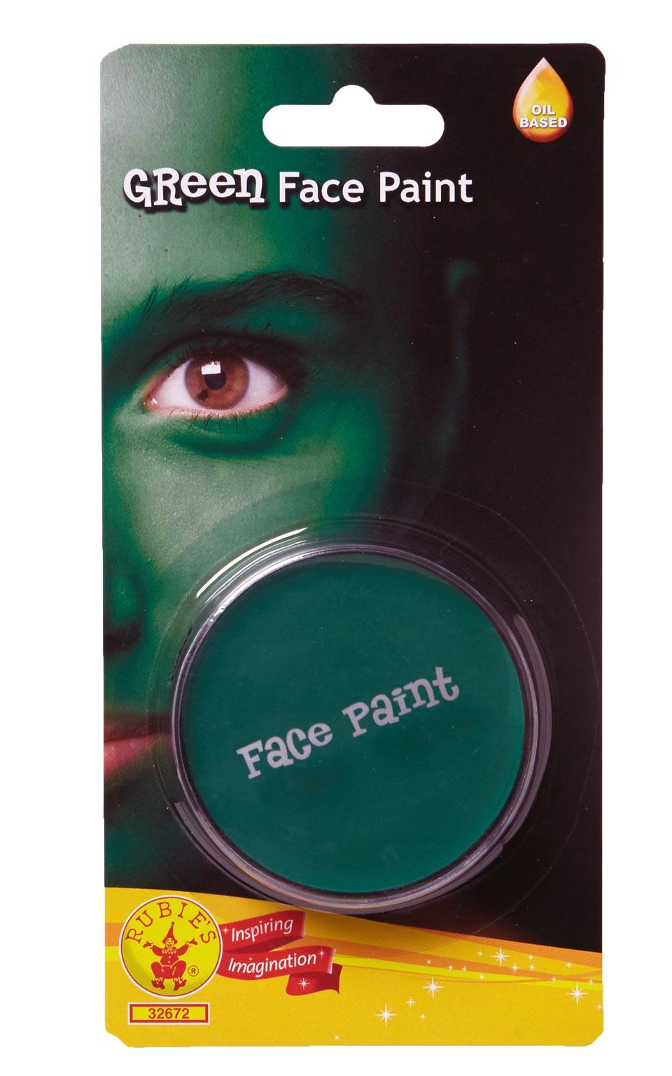Зеленый грим-краска для лица (46) Rubies