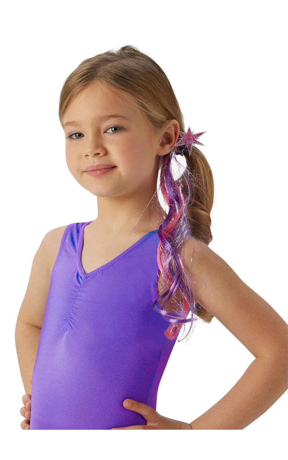 Прядка волос Сумеречной Искорки из из My Little Pony (44) - Парики и волосы, р.44