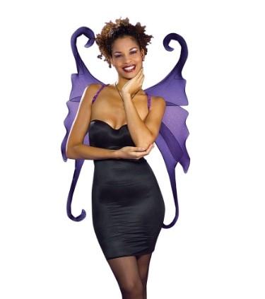 Фиолетовые крылья готической феи (44)