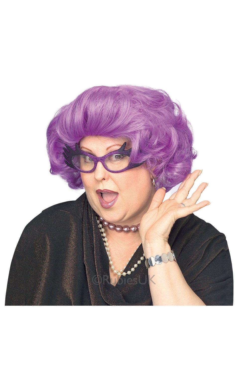 Фиолетовый парик дамочки (44) - Парики и волосы, р.44