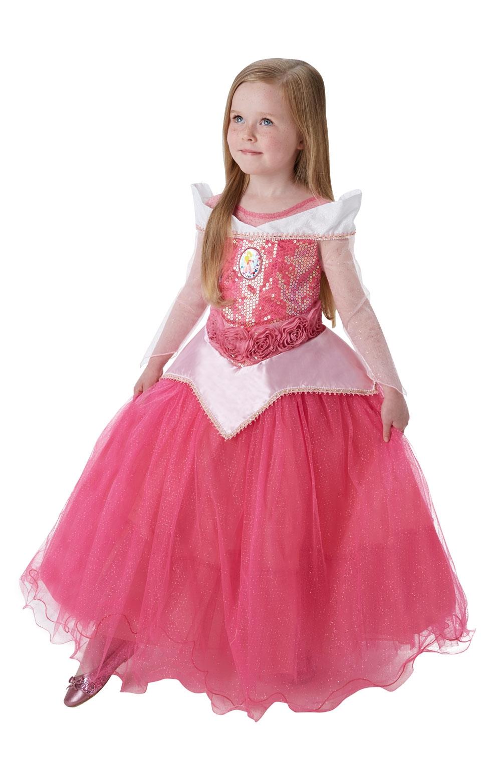 Платье принцессы Авроры розовое (S) - Сказочные герои