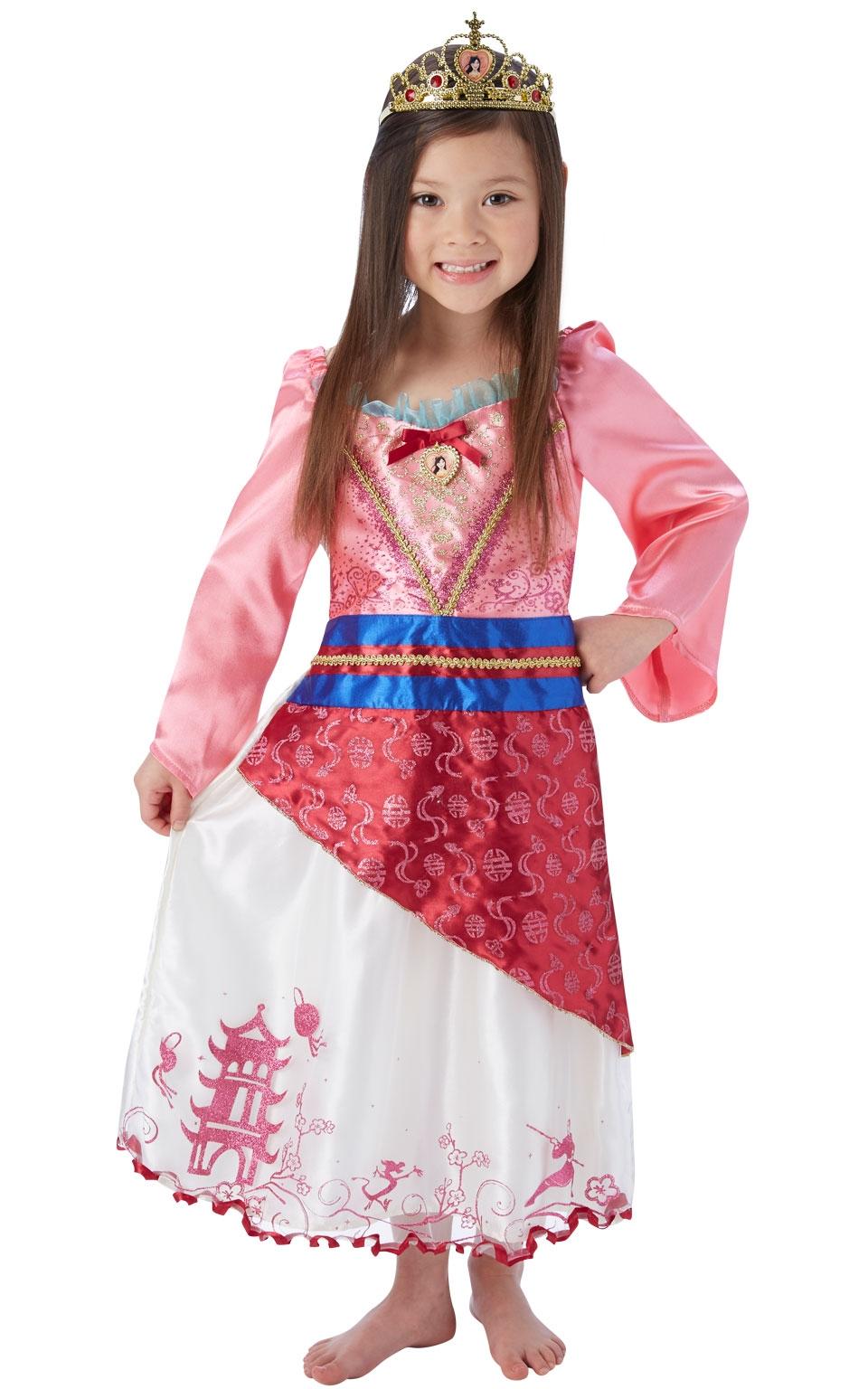 Костюм принцессы Мулан (30-32) детский костюм принцессы авроры 34
