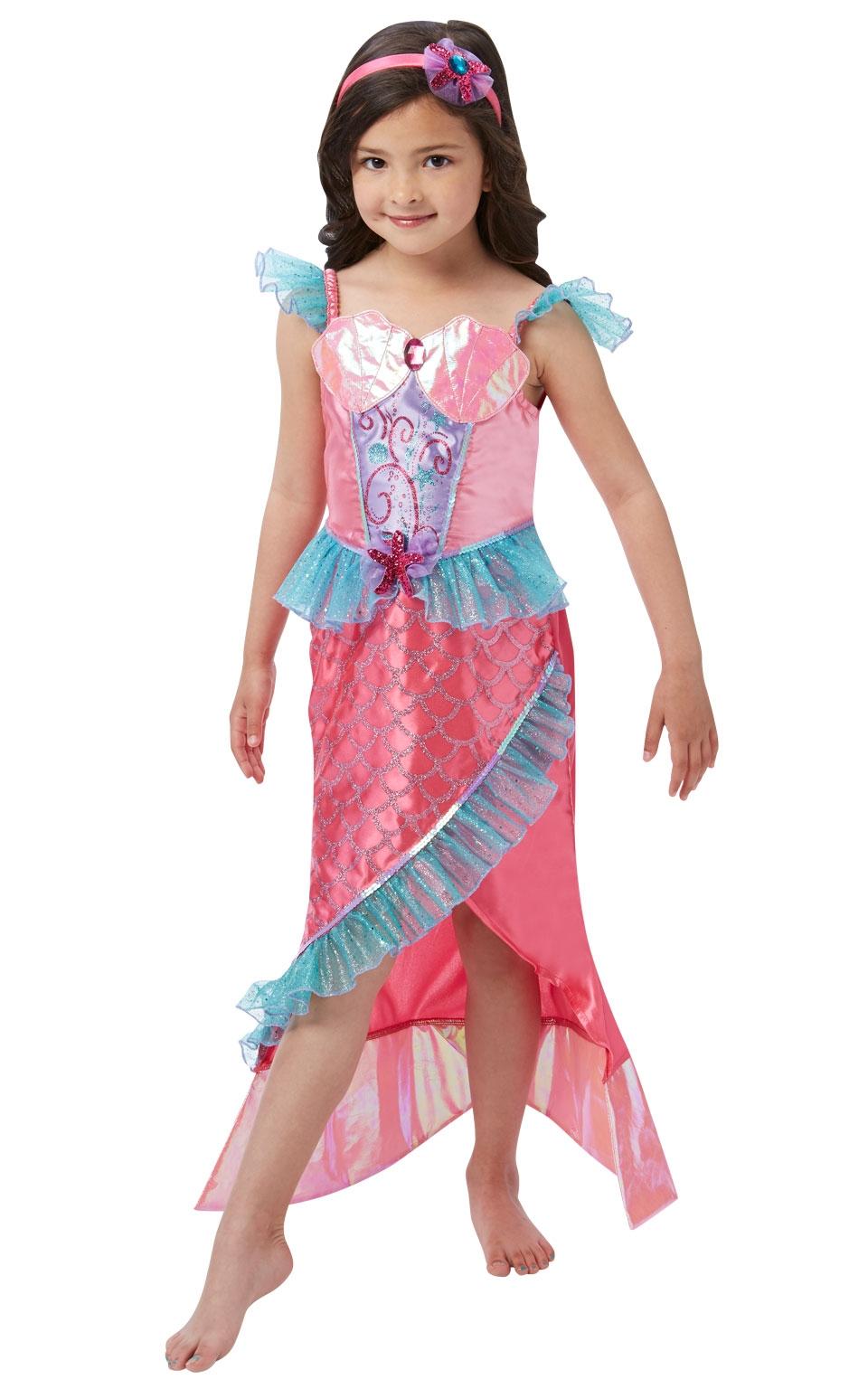 Костюм Русалочки розовый (26-28) детский костюм озорного клоуна 34