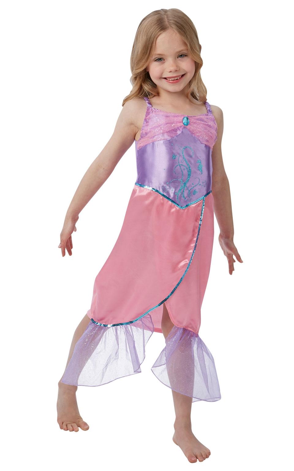 цена Платье русалочки фиолетово-розовое (28-30) онлайн в 2017 году