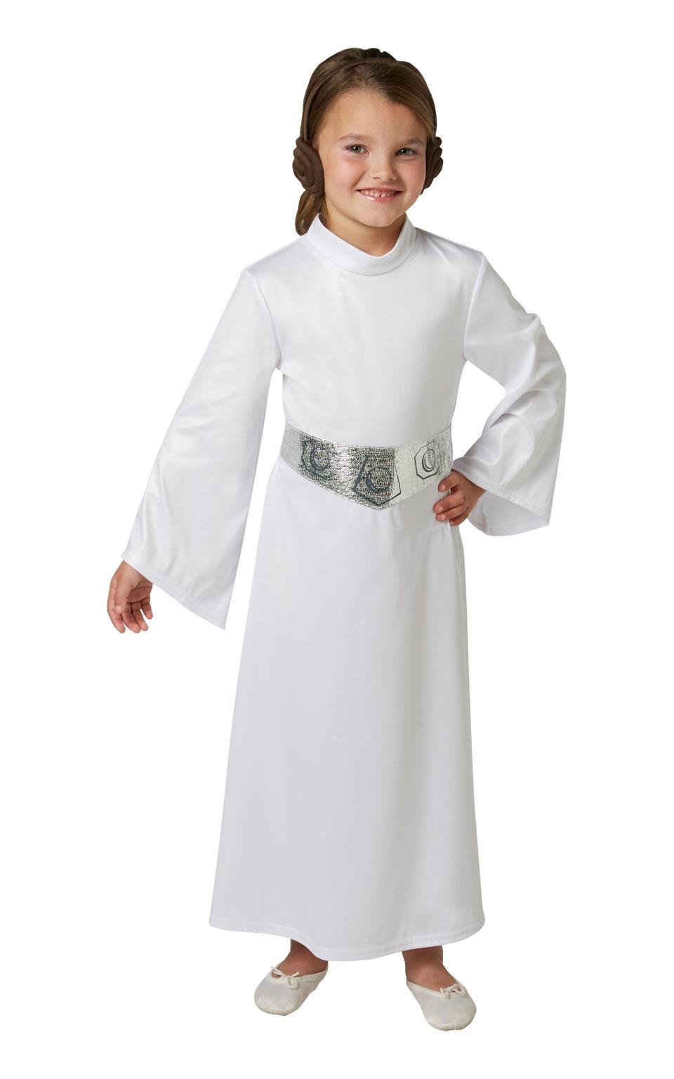 цены на Костюм принцессы Леи детский (30-32) в интернет-магазинах