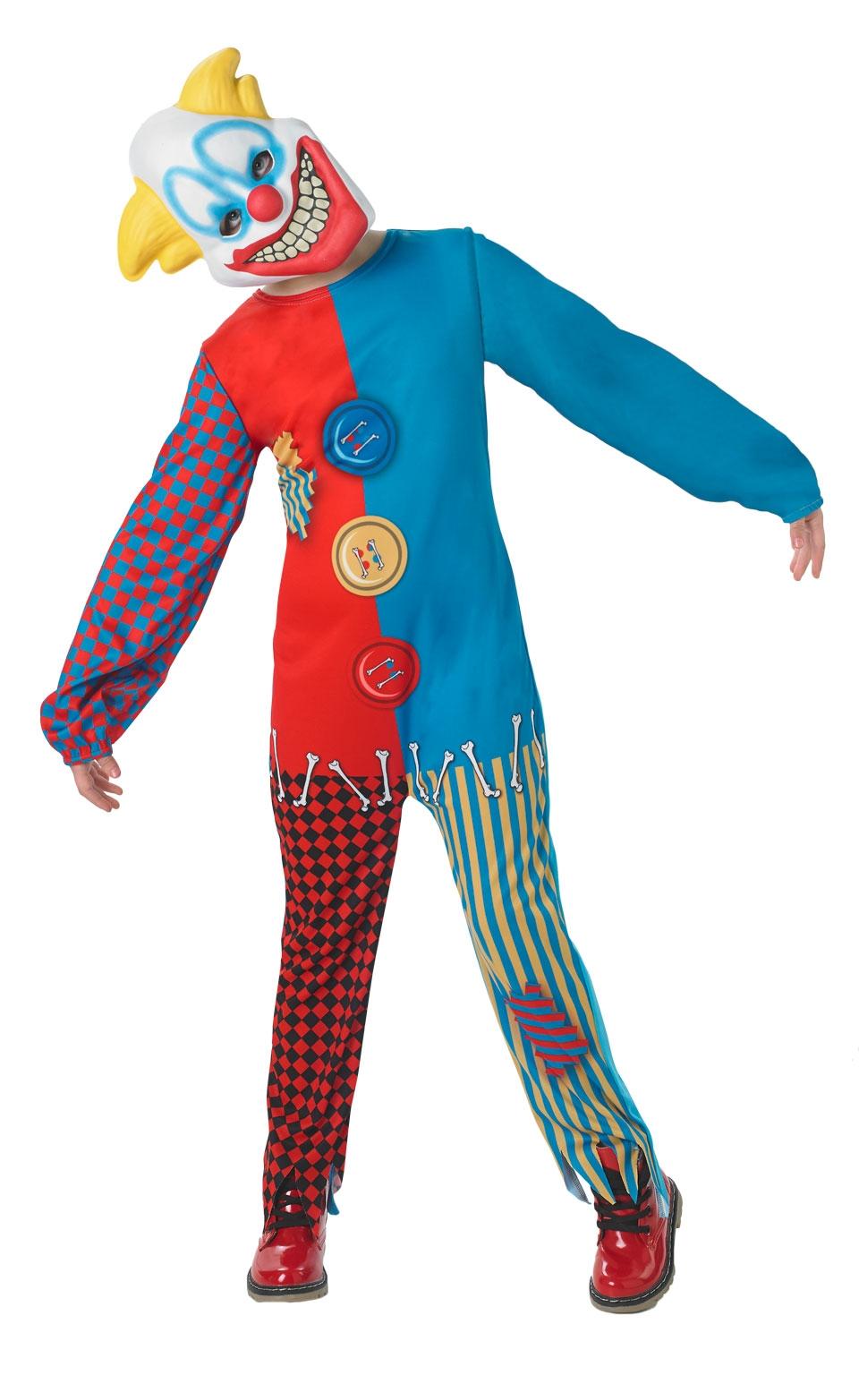 Костюм страшного клоуна детский (30-32) -  Юмор