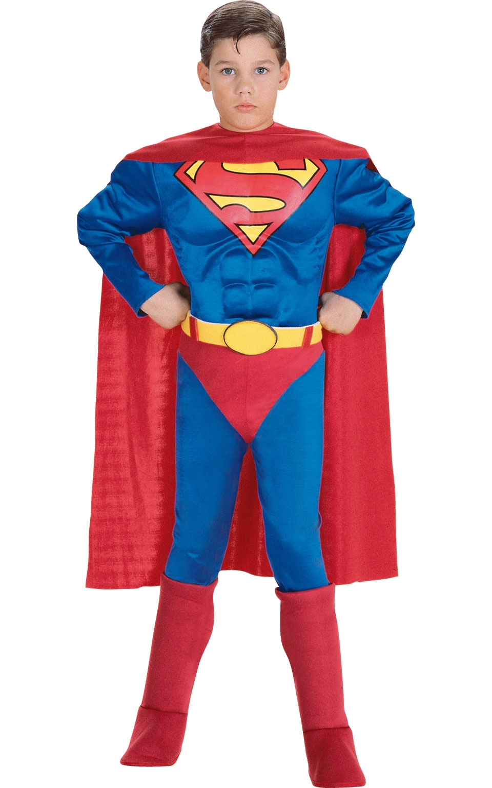 Костюм Супермена с мышцами детский (38-40) детский костюм клоуна весельчака 38