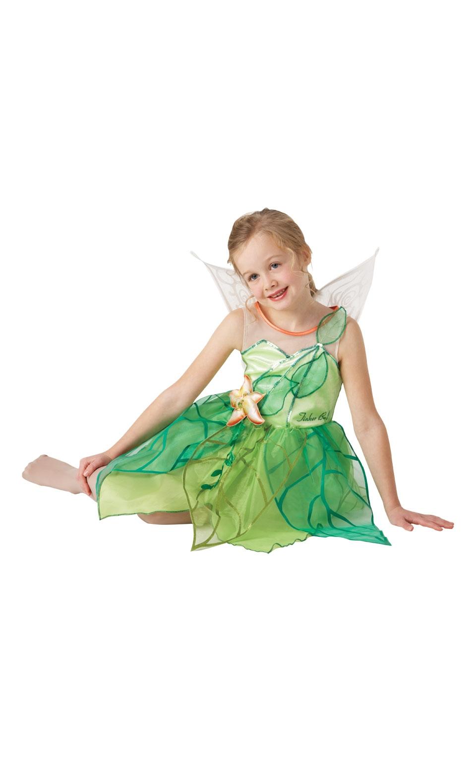 Изящный костюм феи Динь Динь (30-32) костюм феи динь динь зеленый 46 48