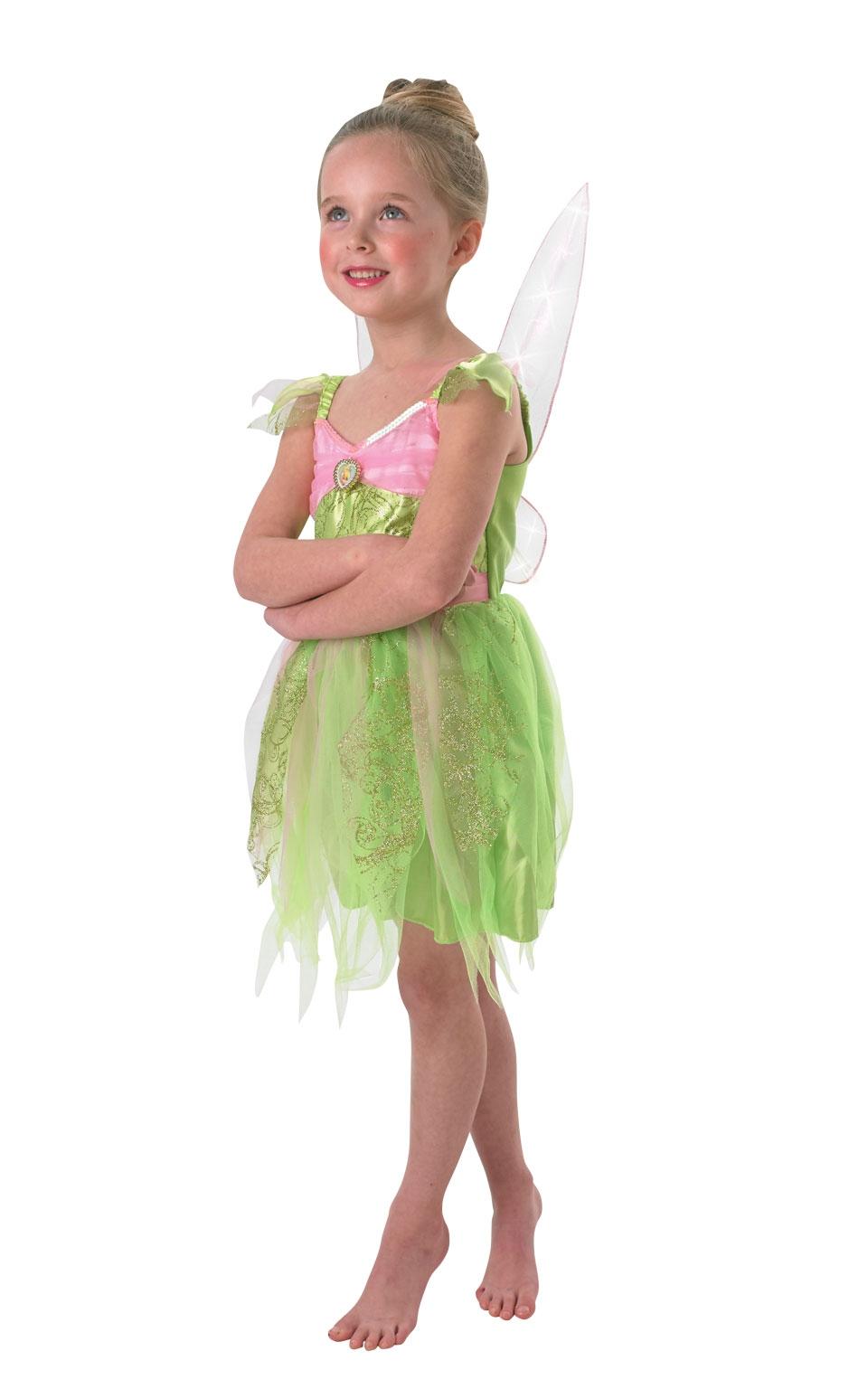 Костюм Феи Динь Динь со светящимися крыльями (28-30) костюм феи динь динь зеленый 46 48