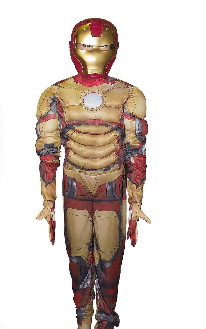 Костюм для детей Железный Человек (26-28) -  Супергерои и комиксы