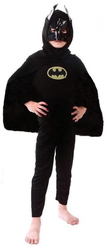 Костюм для мальчиков Бэтмен (42-44) черный костюм медсеcтры 42 44