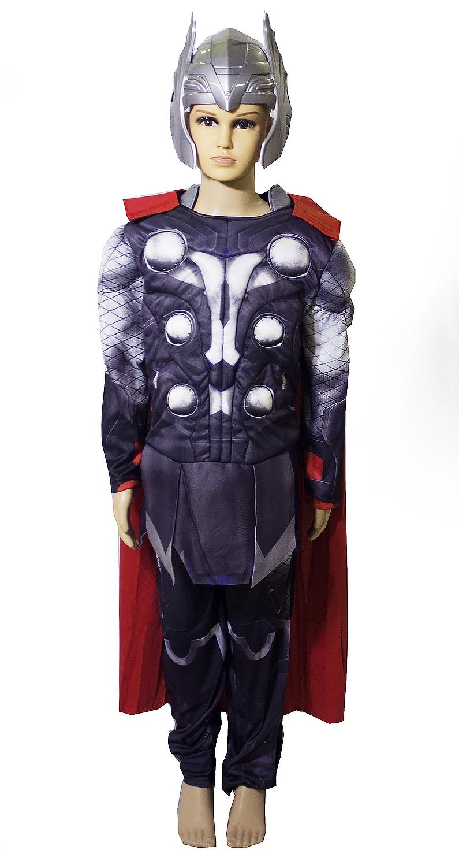 Детский костюм Тора с мышцами (L) - Киногерои