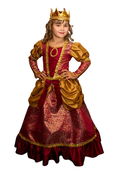 Детский костюм королевы (30-32) детский костюм супермен 30