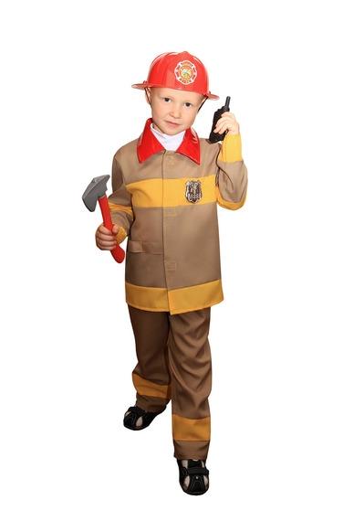 Костюм пожарника детский (28-30) детский костюм супермен 30