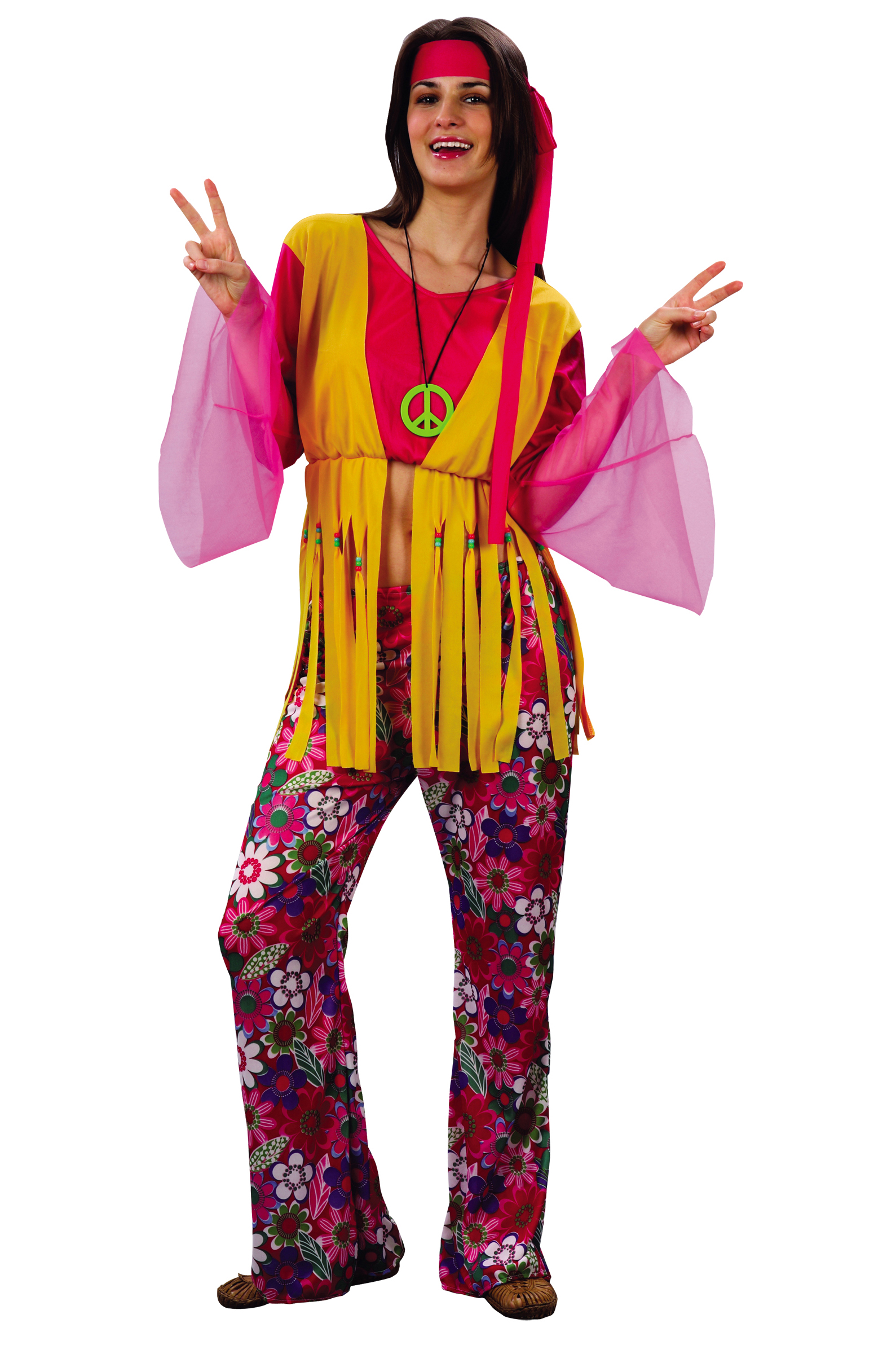 Костюм Девочки хиппи (44-48) костюм цветочной хиппи 48