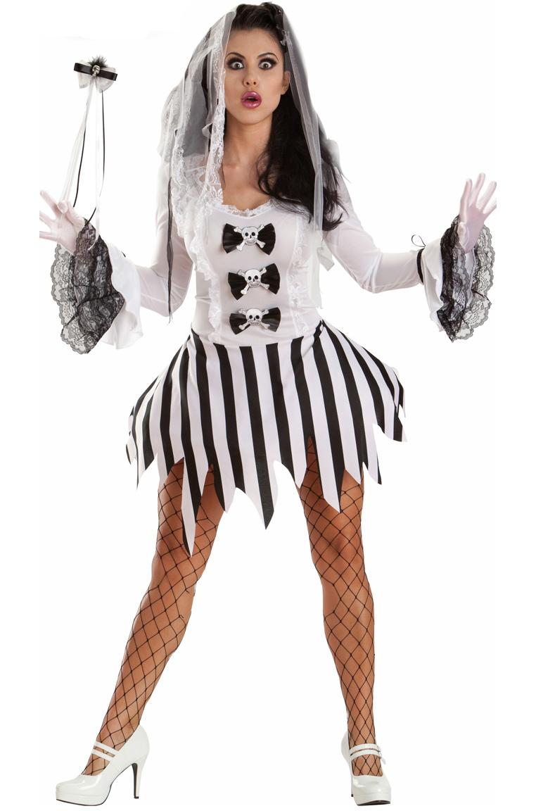 Костюм Зомби-Невесты на Хэллоуин (42) костюм из мультфильма труп невесты