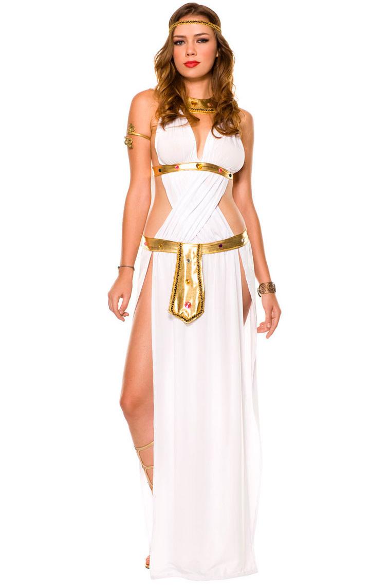 Костюм Греческой Афины (44-46) комплект платьев полуприлегающее платье прилегающее платье max mara платья и сарафаны приталенные