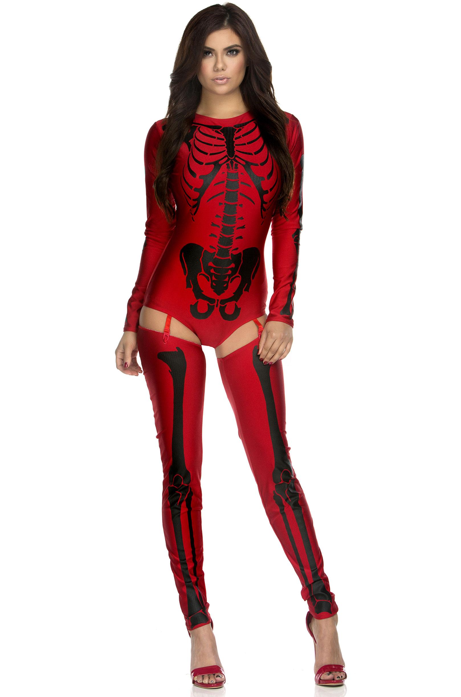 Боди Красного скелета (42-46) -  Зомби и мертвецы