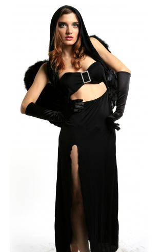 Костюм Сумеречной дивы (42-46) элегантное черное платье где