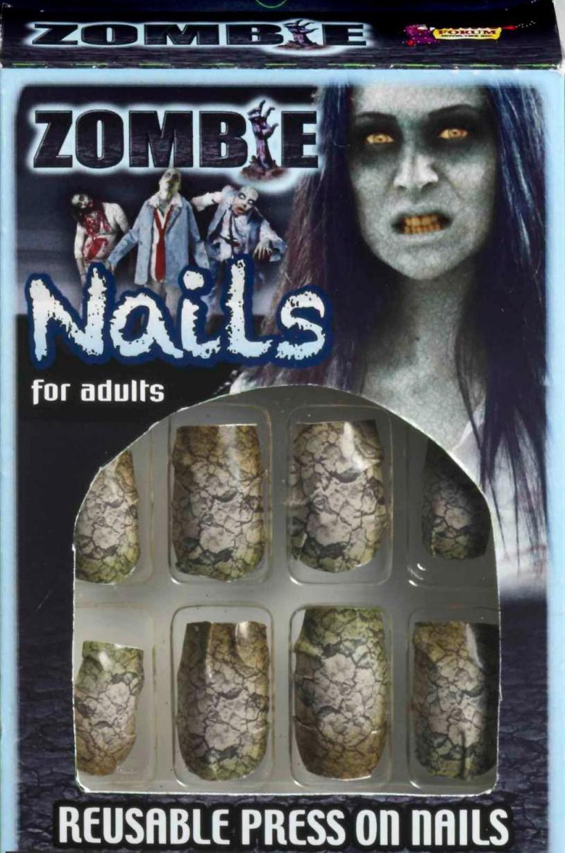 Ногти накладные Зомби (46) дизайн ногтей essence накладные ногти french click