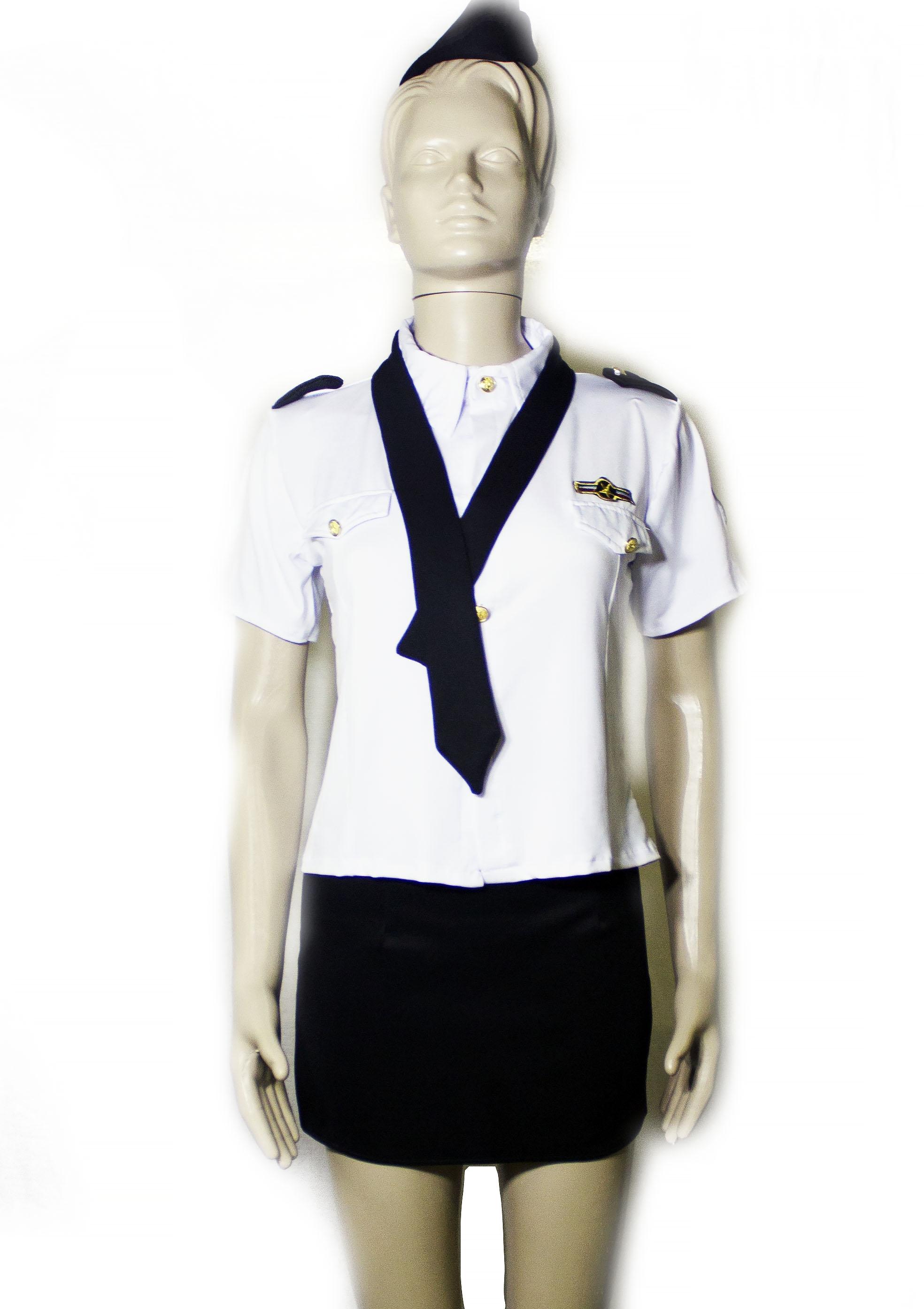 Костюм стюардессы классический (44) - Униформа, р.44
