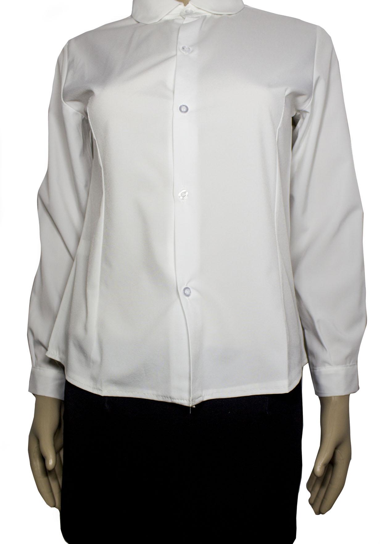 базовый гардероб белая рубашка Белая рубашка стюардессы (44-46)