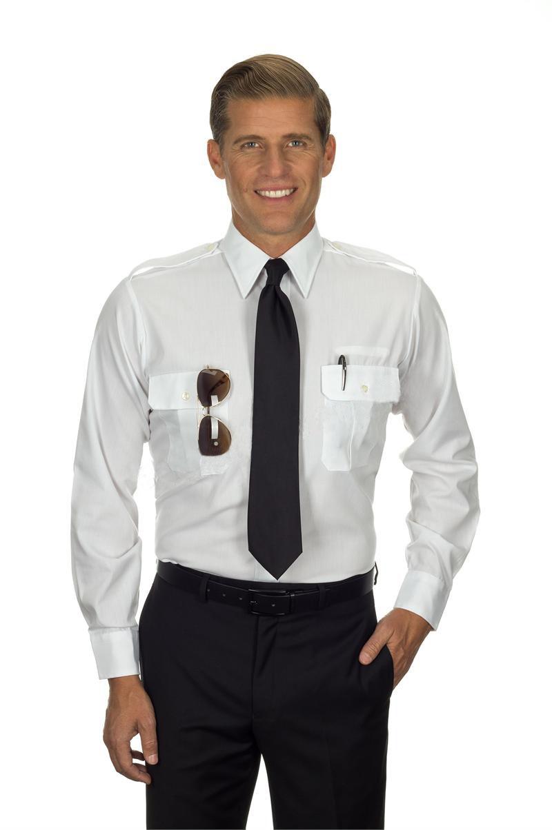 Белая рубашка пилота (48-50) очки пилота в москве