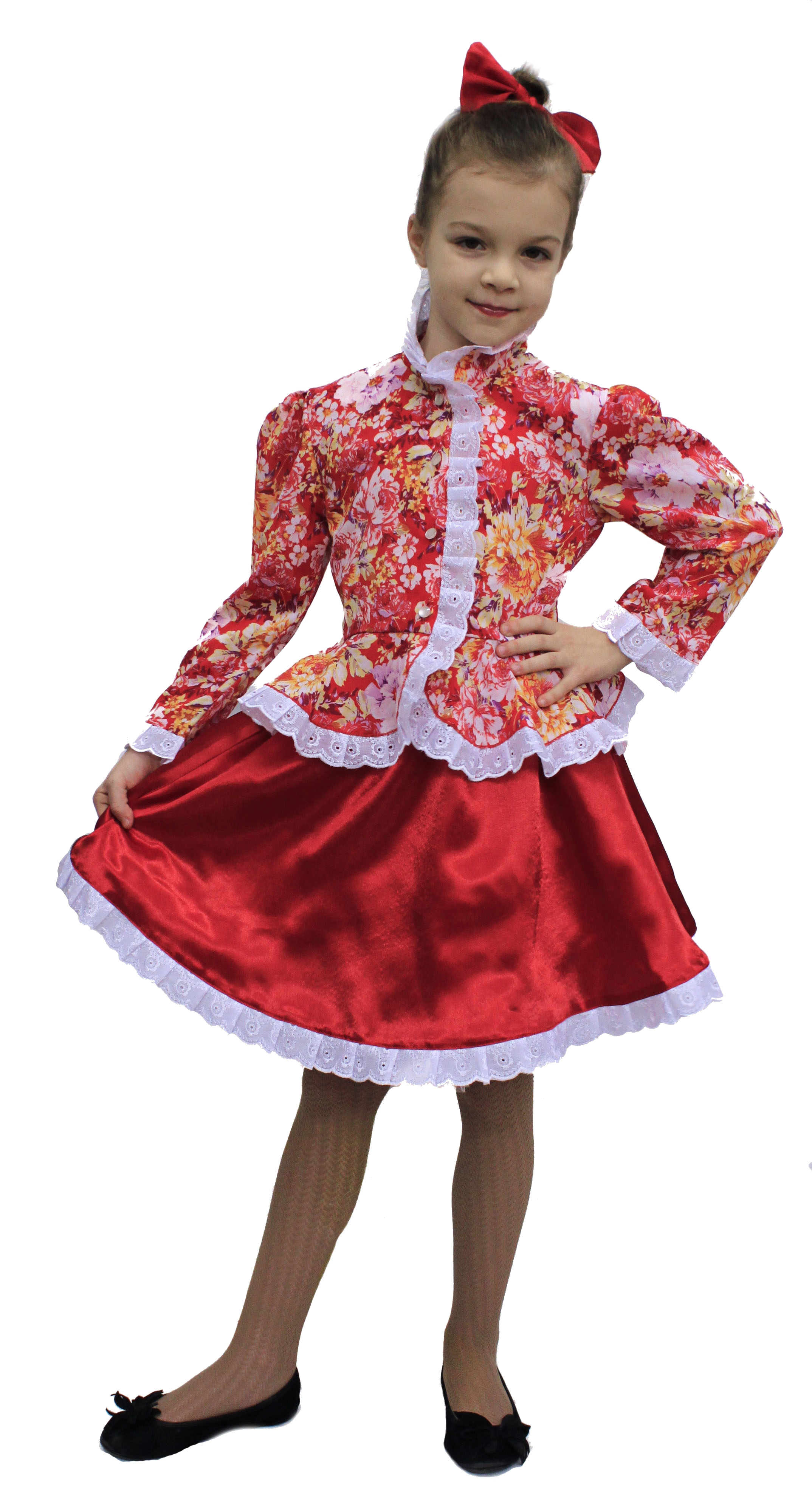Костюм казачки для девочек (46) - Национальные костюмы, р.46