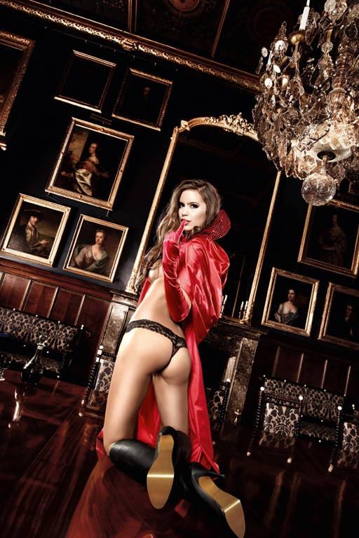 Красная накидка (42-46) -  Дьяволицы и чертовки