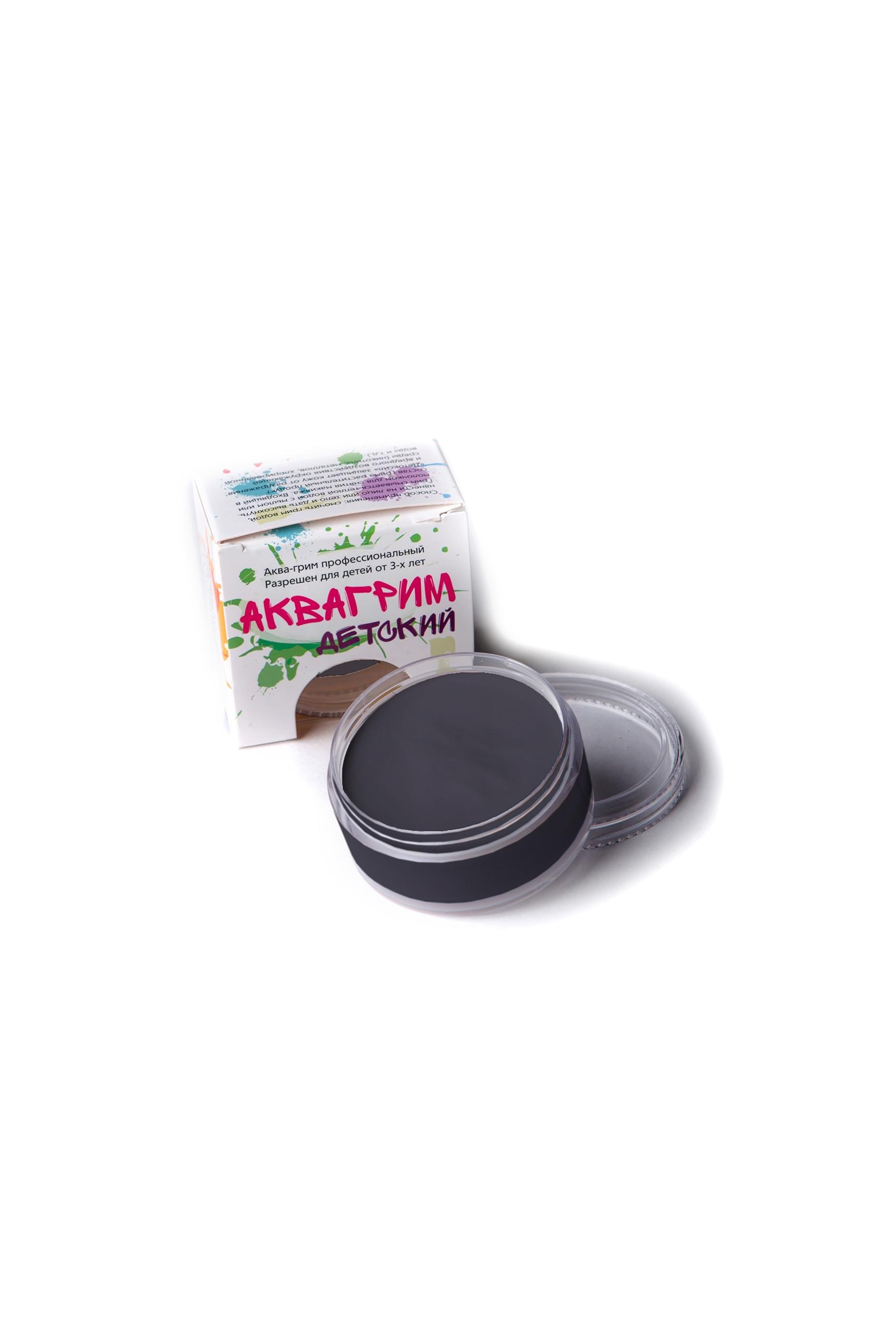 Аква-грим профессиональный черный (UNI) -  Грим и шрамы