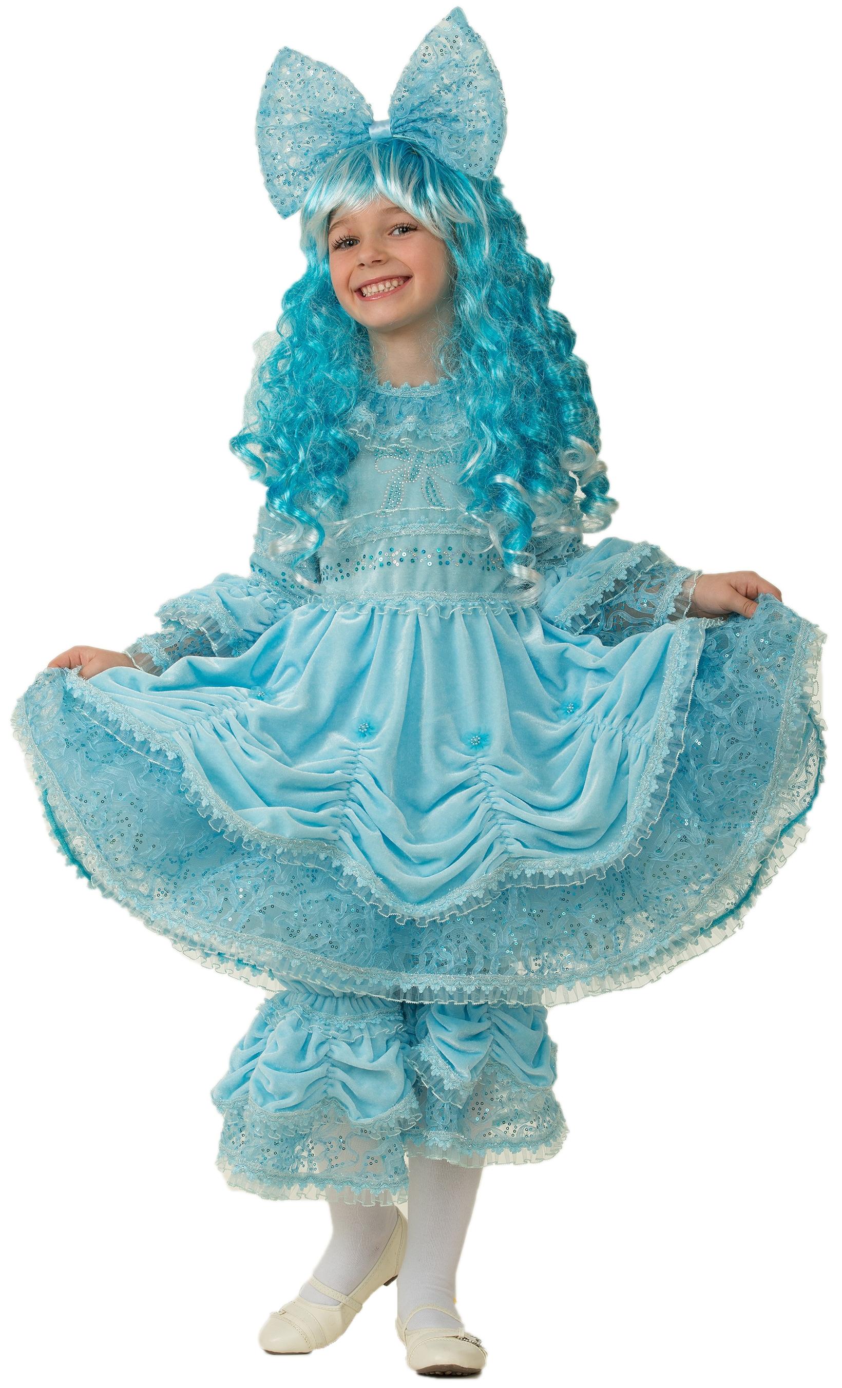 Костюм Мальвины в парике (32) костюм маленькой миледи 32